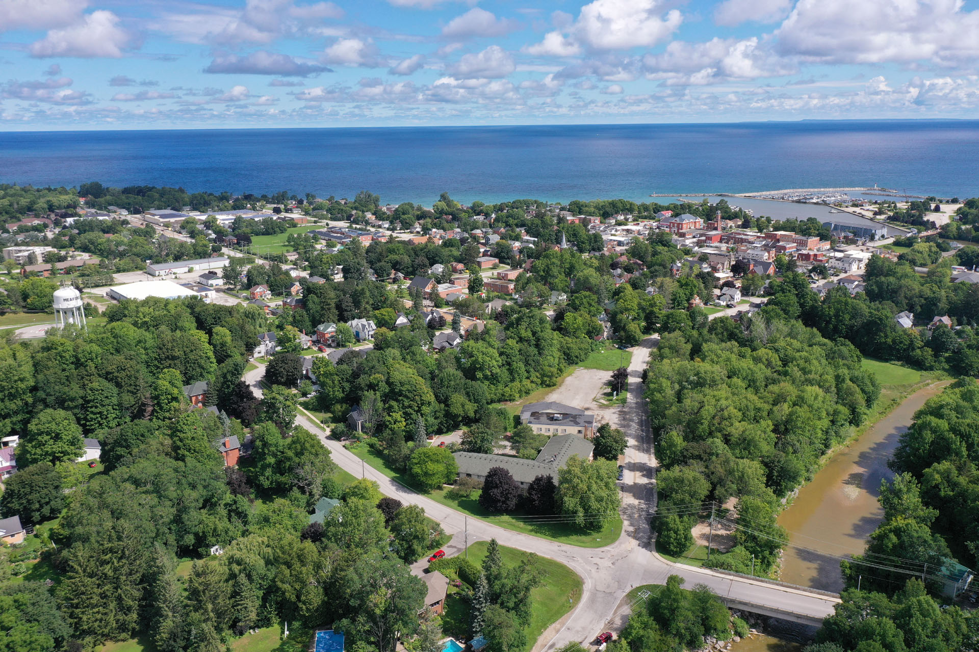 Aerial View of Meaford